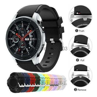 Morbido Cinturino in Silicone per Samsung Galaxy Watch 46mm Watch Band Strap