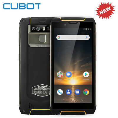"Cubot KingKong 3 5.5"" 4G Smartphone Cellulare 4G+64GB 6000mAh 8*core Android 8.1"