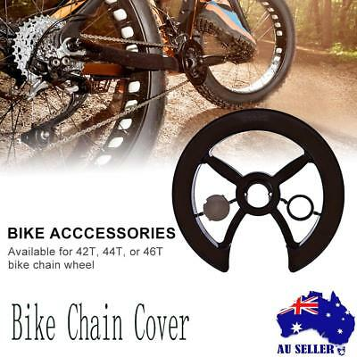 Bicycle Chain Cover Chain Guard Road Bike 42T 44T 46T Chainring Cover Protector