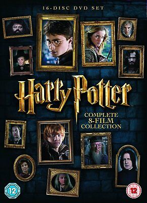 Harry Potter The Complete 8 Film Collection (16 Disc Set) Movies 1- 8 New Sealed