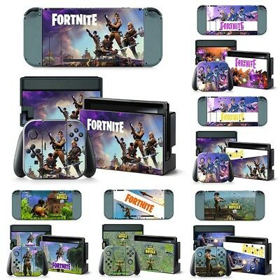 Pour Nintendo Switch Console Game Vinyl Skin Decal Sticker Protection Cover Wrap