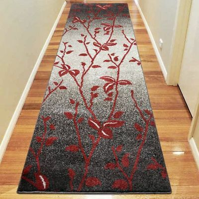 Hallway Rug Hall Runner Modern Contemporary Mat Floor Carpet Terra 2 Sizes 1589