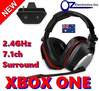 2.4GHz Optical Surround Wireless Gaming Headset Noise Reduction PS4 PC