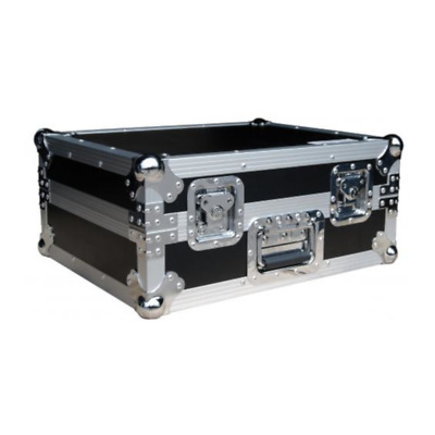 Total Impact FR-1200BMKII Turntable Flight Case - Stealth Black