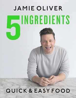 5 Ingredients Quick & Easy Food by Jamie Oliver Quick & Easy Hardcover NEW
