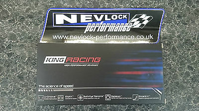 KING RACE BIG END CON ROD BEARINGS TOYOTA 4AGE 4AGZE AE86 MR2 AW11 16V 20V 42mm