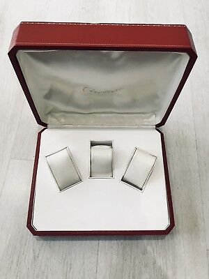 Cartier Watch Box Holds 3 Watches , Very rare  Santos, Panthere, Roadster, Tank