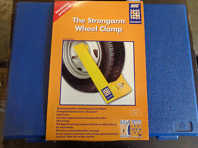Stong arm wheel clamp