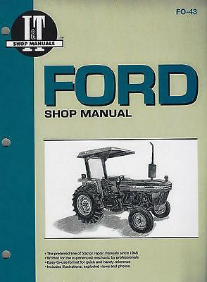 Ford 2810/2910/3910  Workshop Manual