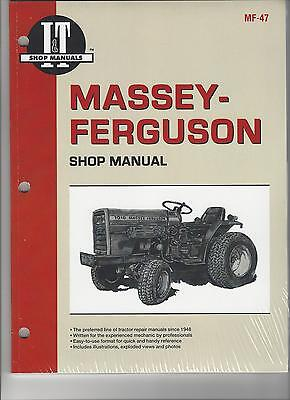 Tractor Workshop Manual for MF 1010 & 1020 (STD & HYDRO)i