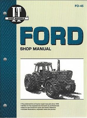 Ford Tw5, Tw15, Tw25, Tw35 + 4 Wheel Drive Workshop Manual