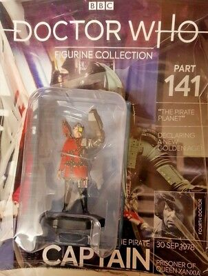 Doctor Who Figurine Collection = #141 = The Pirate Captain = Eaglemoss