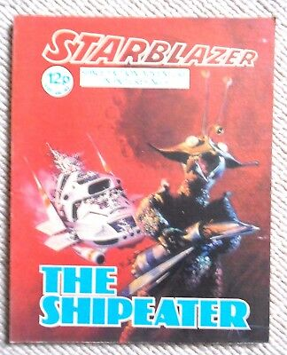Starblazer Space Fiction Adventure In Pictures Comic No.5 1979