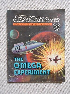 Starblazer Space Fiction Adventure In Pictures Comic No.1 1979