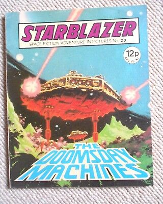 Starblazer Space Fiction Adventure In Pictures Comic No.20 1980