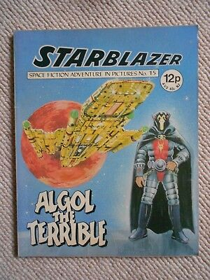 Starblazer Space Fiction Adventure In Pictures Comic No.15  1979