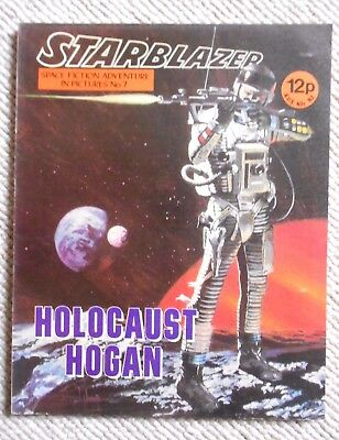 Starblazer Space Fiction Adventure In Pictures Comic No.71979