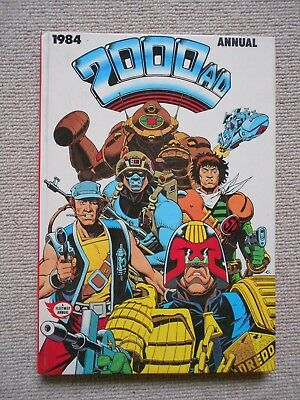 2000AD Annual 1984, BRITISH CHRISTMAS ANNUAL - VERY GOOD CONDITION.