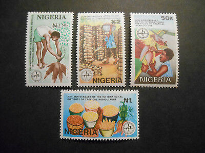 Nigeria 1992 25th Anniversary of Institute of Tropical Agriculture SG 633-6 MNH