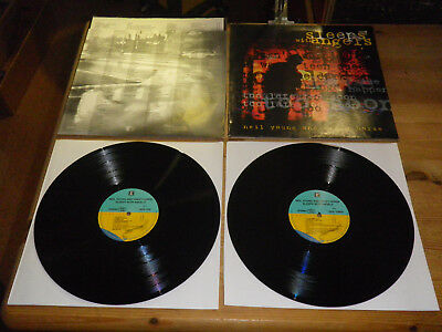 """NEIL YOUNG & CRAZY HORSE: Sleeps With Angels, 9362-45749-1, GER, 12""""/ 2 LP, TOP!"""