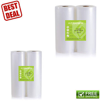 Commercial Vacuum Sealer Bags Rolls for Vac Machines Cook and Freezer Safe