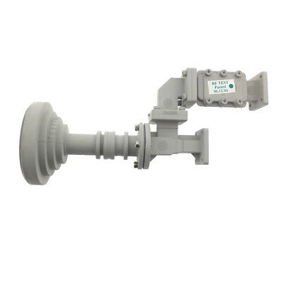 Feed Horn with Orthomode Transducer & Rejection Filter 3040661, 3041063, 3041065