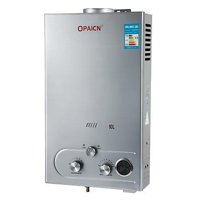 10L Propane Liquefied Petroleum Gas Water Heater 20KW 2.7GPM Tankless Instant
