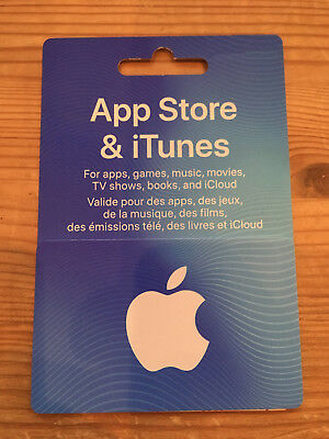 AUTHENTIC CANADIAN iTunes CARD $10 - iTunes Canada App Store. Play Brawl Stars