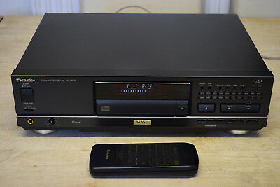 Technics SL-PS70 High-End Vintage CD Player Hi-Fi Stereo Separate With Remote