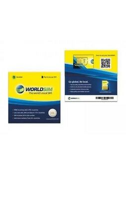 World sim travelers sim card £10 CREDIT FREE (FOR BIG ORDERS CONTACT FOR PRICE)