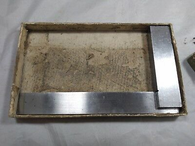 Vintage Enco Machinist Precision Square Tool w/ Box