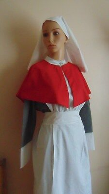 Ww1 Ww2 Qaimns Style Staff Nurse Uniform Costume Used Only For Display On Model