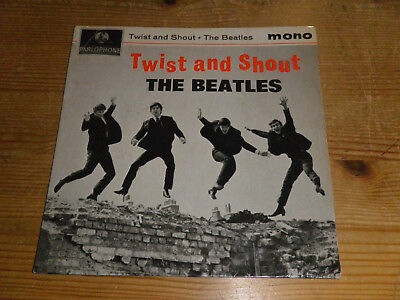 """THE BEATLES: Twist And Shout, PARLOPHONE, GEP 8882, UK, 7""""/ EP, RAREST!!"""