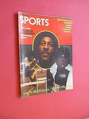 WORLD SPORTS MAGAZINE. November 1971