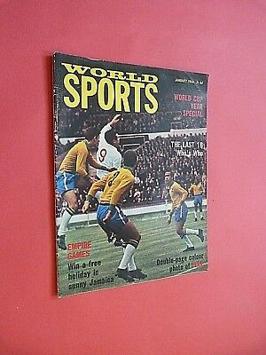 WORLD SPORTS MAGAZINE. January 1966