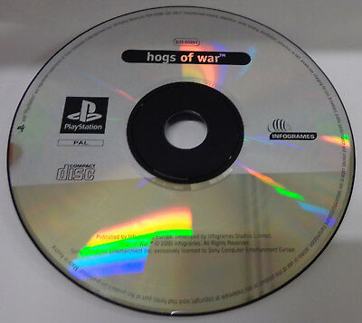 Console Gioco Game SONY Playstation PSOne PSX PS1 Play PAL ITALIANO HOGS OF WAR
