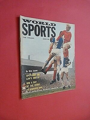 WORLD SPORTS MAGAZINE. March 1965