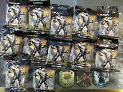 Ultra Pro Magic the Gathering MTG Relic Tokens Lineage Collection - Pack Lot
