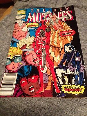 The New Mutants # 98 Introducing The Lethal Deadpool Marvel Comics