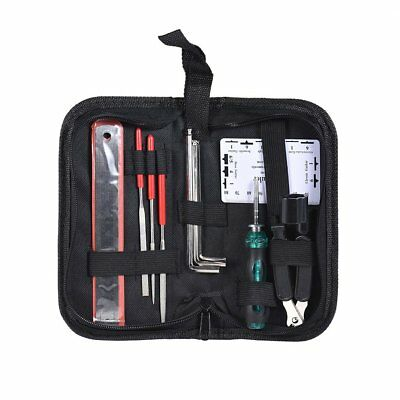New 3 in 1 Tool Guitar Repair and Maintenance Tools Accessories Kit Portable Bag