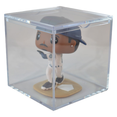 SOFTBALL AND FIGURE DISPLAY CUBE display case NEW ULTRA PRO