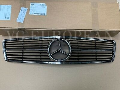 Mercedes Benz Genuine W126 Coupe Front Radiator Upper Grille 560SEC 500SEC NEW!!