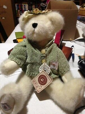 Boyd's Bears Ashlyn Bloomengrows TJ's Collection Jointed Bear Plush w/tags
