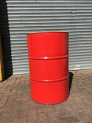 SHELL OIL Drum  Empty Metal  BARREL DRUM 208 LITRE  BARREL 45 GALLON