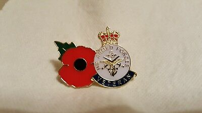 Stunning H M Armed Forces Veteran Badge And Poppy