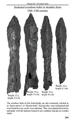 Middle Ages - European Arrowheads, crossbow bolts