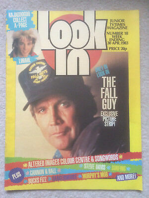 Look In Magazine 30 Apr 1983 #18 The Fall Guy & Altered Images