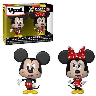 Funko Disney Vynl Mickey Mouse Minnie Mouse Figure Set NEW IN STOCK