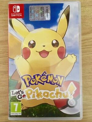 Pokemon Let'go Pikachu