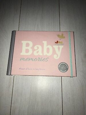 Marks And Spencer baby girl memory book